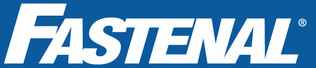 Fastenal logo blue white