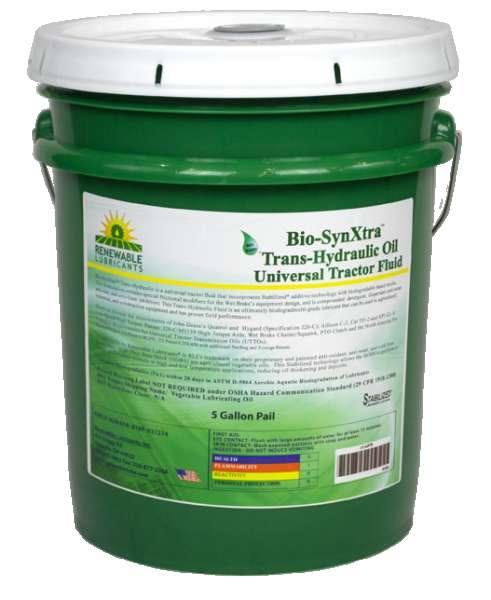 81224 Bio Syn Xtra Trans Hydraulic Oil UTF