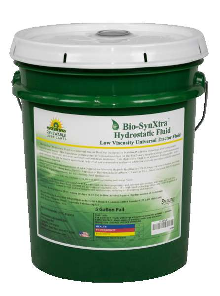 81304 Bio Syn Xtra Hydrostatic Fluid Low Viscosity 5 Gal Pail
