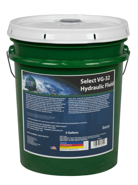 70824 Hydro Safe Select VG 32 Hydraulic Fluid 5 Gal Pail