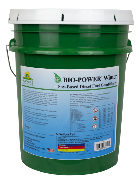 80414 Bio Power Winter Diesel Fuel Conditioner 5 Gal Pail
