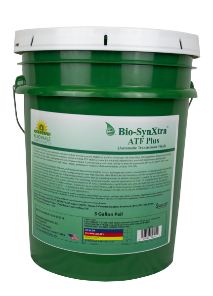 82304 Bio Syn Xtra ATF PLUS Automatic Transmission Fluid 5 Gal Pail