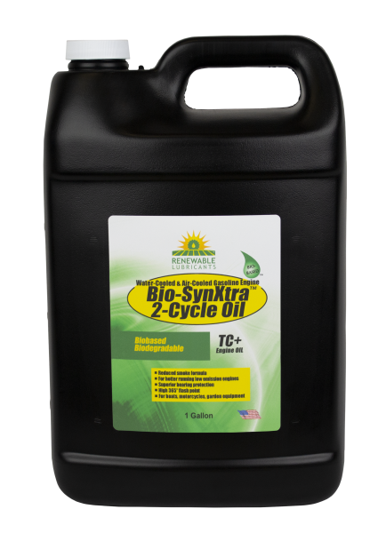 85213 Bio Syn Xtra TC W 2 Cycle Engine Oil 1 Gal front