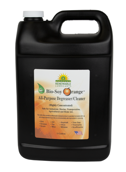 86643 Bio Soy Orange All Purpose Degreaser Cleaner 1 Gal front