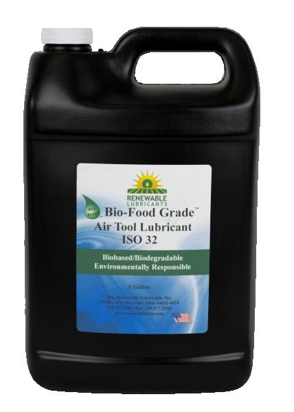 87463 Bio Food Grade Air Tool Lubricant ISO 32 1 Gal