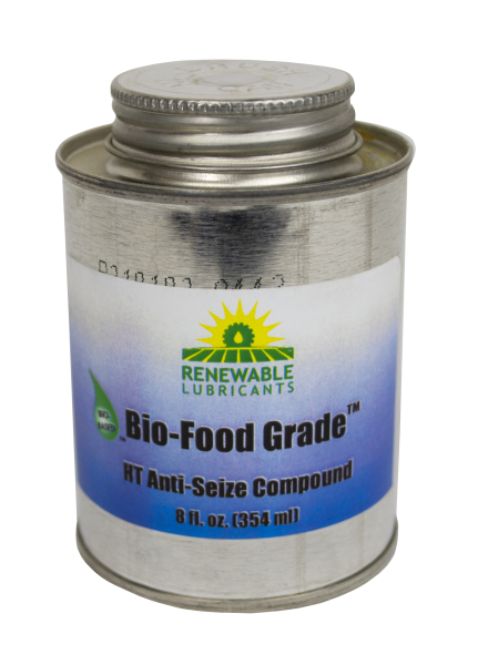 87561 Bio Food Grade Anti Seize NLGI 1 8 oz Can 9 case