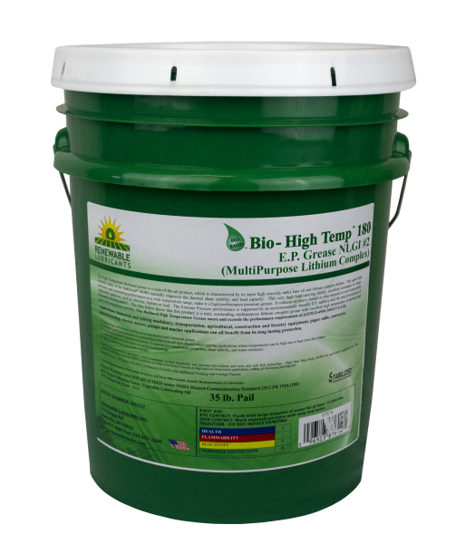 87614 Bio HT 180 E P Grease NLGI 2 MP Lithium Complex 35 lb Pail