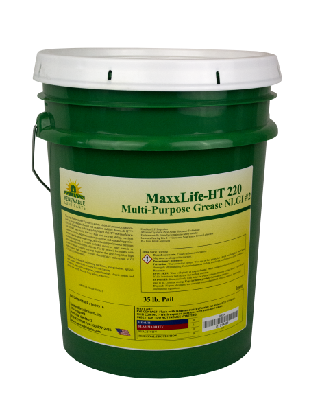 89004 Maxx Life HT 220 HT Multipurpose Grease NLGI 2 35 lb Pail
